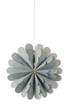 Marigold Pappersstjärna grå 60cm
