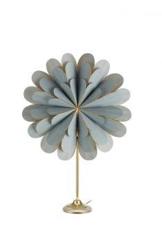 Marigold Bordsstjärna grå/mässing 65cm