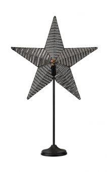 Rustic Bordsstjärna svart 77,5cm
