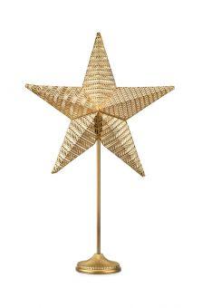 Rustic Bordsstjärna guld 77,5cm
