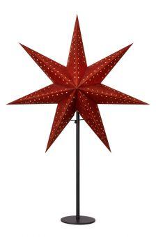 Embla Adventsstjärna svart 65cm