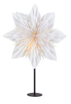 Neela Bordsstjärna vit/svart 65cm