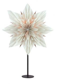 Neela Bordsstjärna grå/svart 65cm