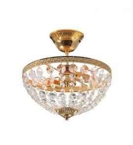 Hanaskog plafond i guld från Markslöjd