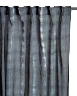 Gardinlängd Mogihome Batik grå 135x250cm 1st