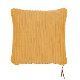 Mogihome Kuddfodral Jarami senapsgul 45x45cm