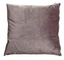 Kuddfodral Sammet grå 50x50cm Mogihome