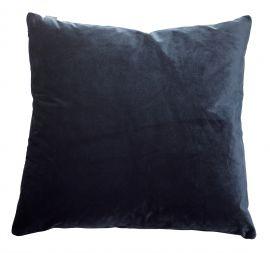 Kuddfodral Sammet blå 50x50cm Mogihome