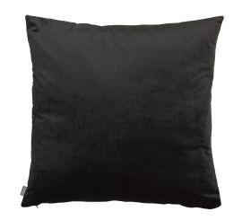 Kuddfodral Sammet svart 50x50cm Mogihome