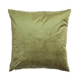Kuddfodral Sammet grön 50x50cm Mogihome