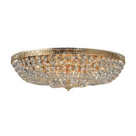 Vanadis Plafond guld kristall