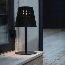 PR Home Alvar Solcellslampa USB svart 48cm