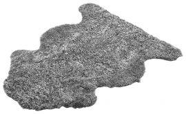 Fårskinnsfäll Aussie 17mm Skandinavian Grey 60x100cm