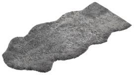 Fårskinnsfäll Aussie Longo 17mm Scand.Grey 60x140cm