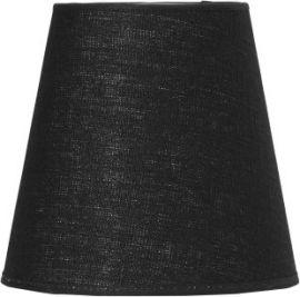 Toppringsskärm svart för golvlampa Cia