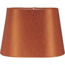 Omera Lampskärm Sidenlook Glint orange PR Home