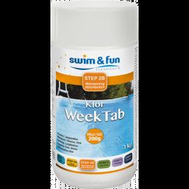 Swim&Fun veckoklor 200g tabletter