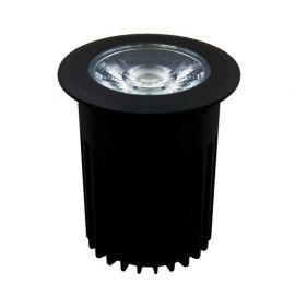 Lightson Castor markspotlight 15W svart