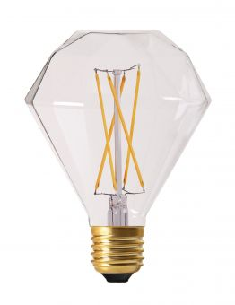 LED-lampa E27 Filament 10cm Diamond 4W