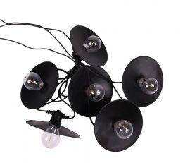 Donna Light String Ljusslinga IP44 svart 7,9m PR Home