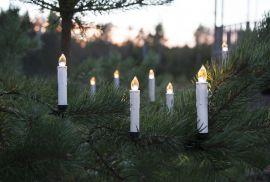 Julgransbelysning trådlös utomhus 10st Start