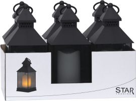 Lantern Lykta svart 34cm