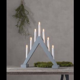 Star Trading Elljusstake Trill 7L i trä grå 47cm