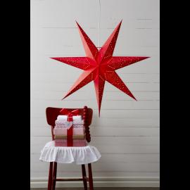Sensy Adventsstjärna röd 70cm Star Trading