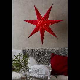Sensy Adventsstjärna röd 100cm Star Trading