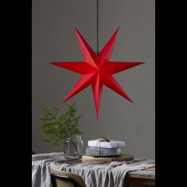 Star Trading Rozen adventsstjärna i papper röd 70cm