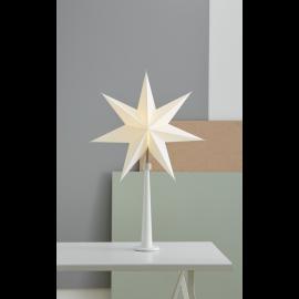 Paint Adventsstjärna snow vit 80cm Star Trading
