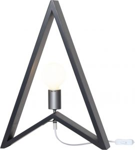 Lampfot Kil trä grå 48cm