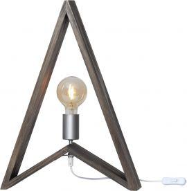 Lampfot Kil trä brun 48cm