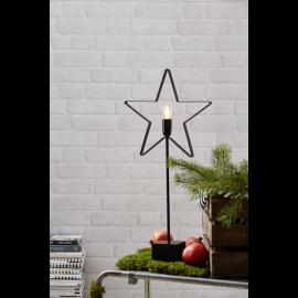 Orbit Adventsstjärna metall svart 70cm Star Trading