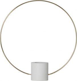 Star Trading Forever Bordsdekoration Ring vit 35cm