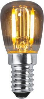 Soft Glow LED-lampa E14 2200k 1,4W (10W) rökfärgad