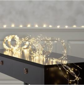 Ljusslinga 3m Dewdrops 720 ljuspunkter varmvitt ljus
