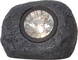 Rocky Solcells-spotlight grå 11cm