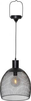 Taklampa Solcell Sunlight svart 35cm