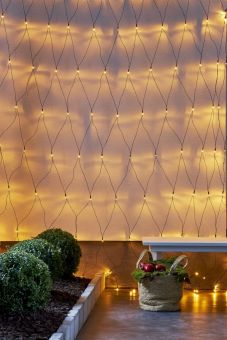 Ljusnät Serie LED Golden Warm White 3x3m