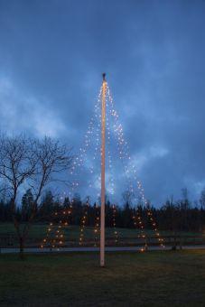 Flaggstångsbelysning Serie LED Golden Warm White