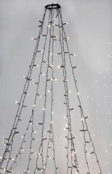 Julgransslinga Crispy Ljusslinga Serie LED Ice White
