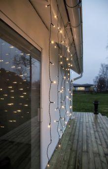 Crispy Ljusgardin Serie LED Ice White 1,3m