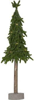 Lummer dekorationsträd/plastgran 15LED 55cm