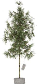 Pine dekorationsträd/plastgran 20LED 60cm