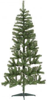 Halve julgran/plastgran 180cm grön