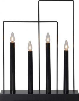 Glossy Frame Elljusstake svart 36cm
