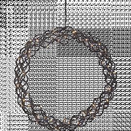 Star Trading Curly krans 50st LED 45cm