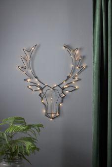 Inomhusdekoration Cupid siluett hjort 57cm