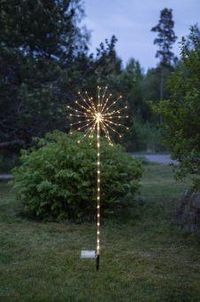 Star Trading Utomhusdekoration Firework silver 152L 100cm